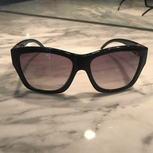 Jimmy Choo Lou Black Sunglasses